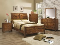Wood Rustic Bedroom Furniture Ideas | EVA Furniture