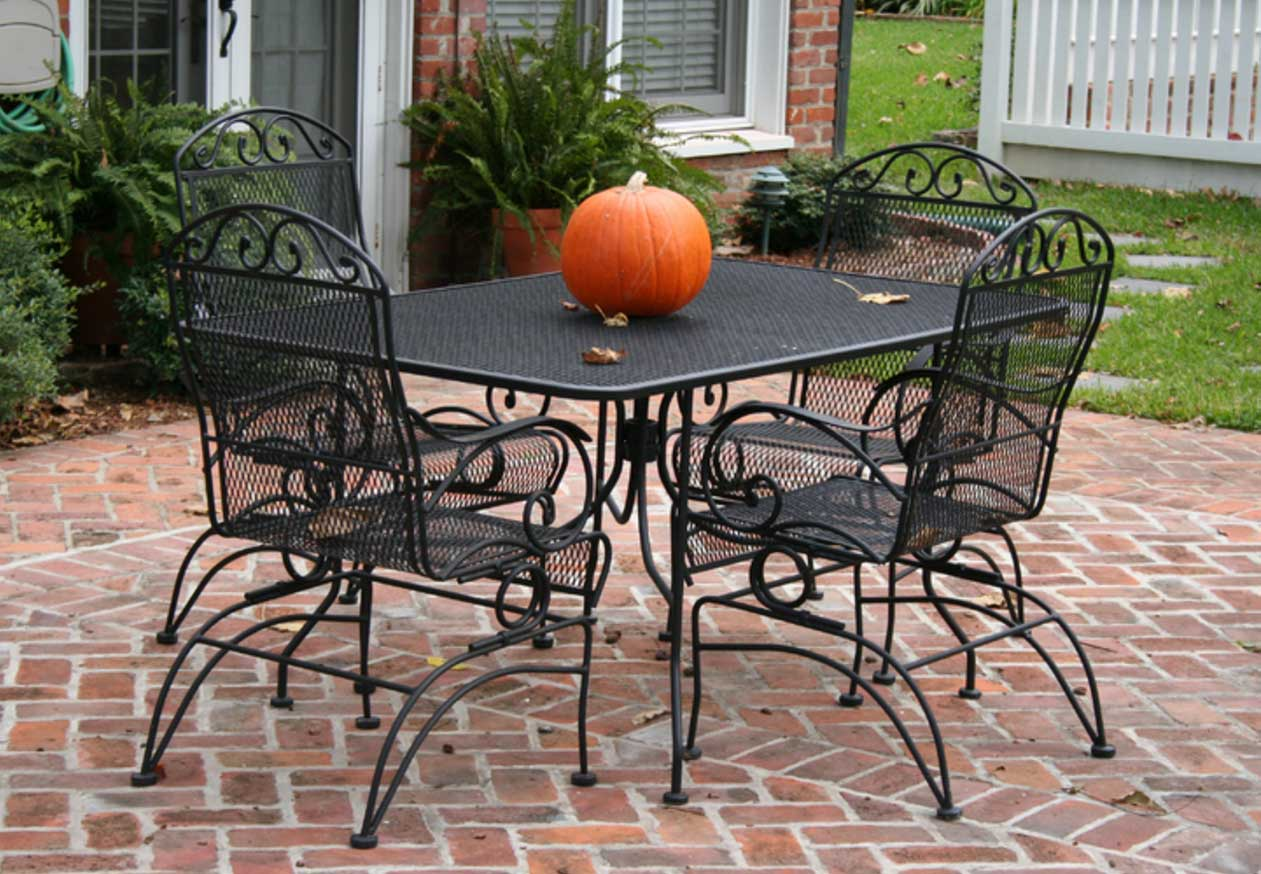 Patio Furniture Table And Chairs Cast Iron Patio Set Table Chairs Garden Furniture Eva