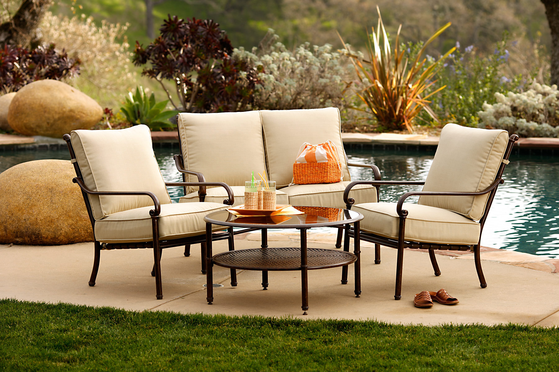 Chairs For Outdoor Small Patio Furniture Eva Furniture