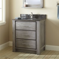 Rustic Small Bathroom Vanities Picture Design | EVA Furniture