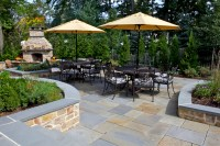 Terrific Paver Outdoor Patio Ideas with Patio Furniture ...