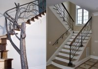 Unique Wrought Iron Railings Banister Ideas