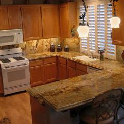 Kitchen Countertop Stone Options Ideas For Backsplash Granite Countertops Cost Installation And