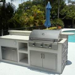Stainless Steel Outdoor Kitchen Wood Toy Grills Island