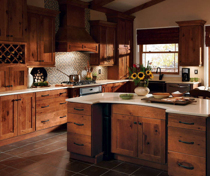 Hickory Shaker Style Kitchen Cabinets