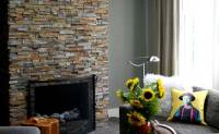How To Reface A Brick Fireplace With Stone Veneer   Zef Jam