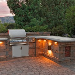 Outdoor Kitchen Bbq The Honest Coupon Masonry Island Cabinets