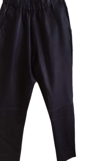 Depeche soft black leather pant