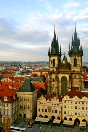 View from the Astronomical clock tower