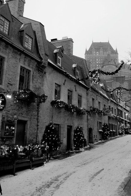 Petit Champlain - the most christmassy part of QC