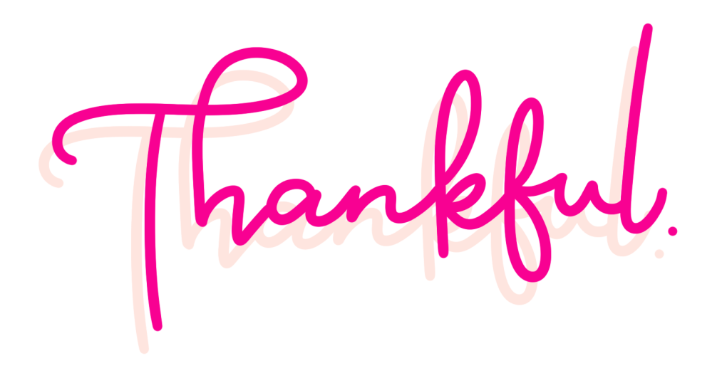 Thankful gratitude email course