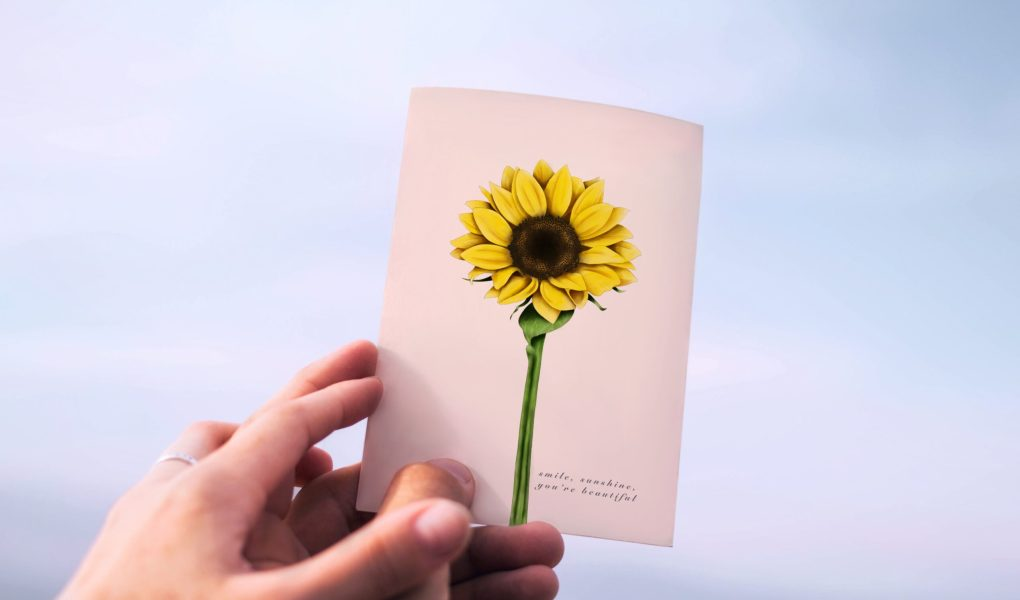 Sunflowers are the perfect thing to cheer someone up