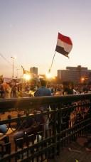 Début iftar place Tahrir