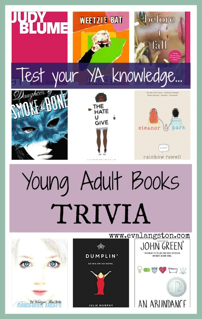 Test your YA knowledge with Young Adult Books Trivia!