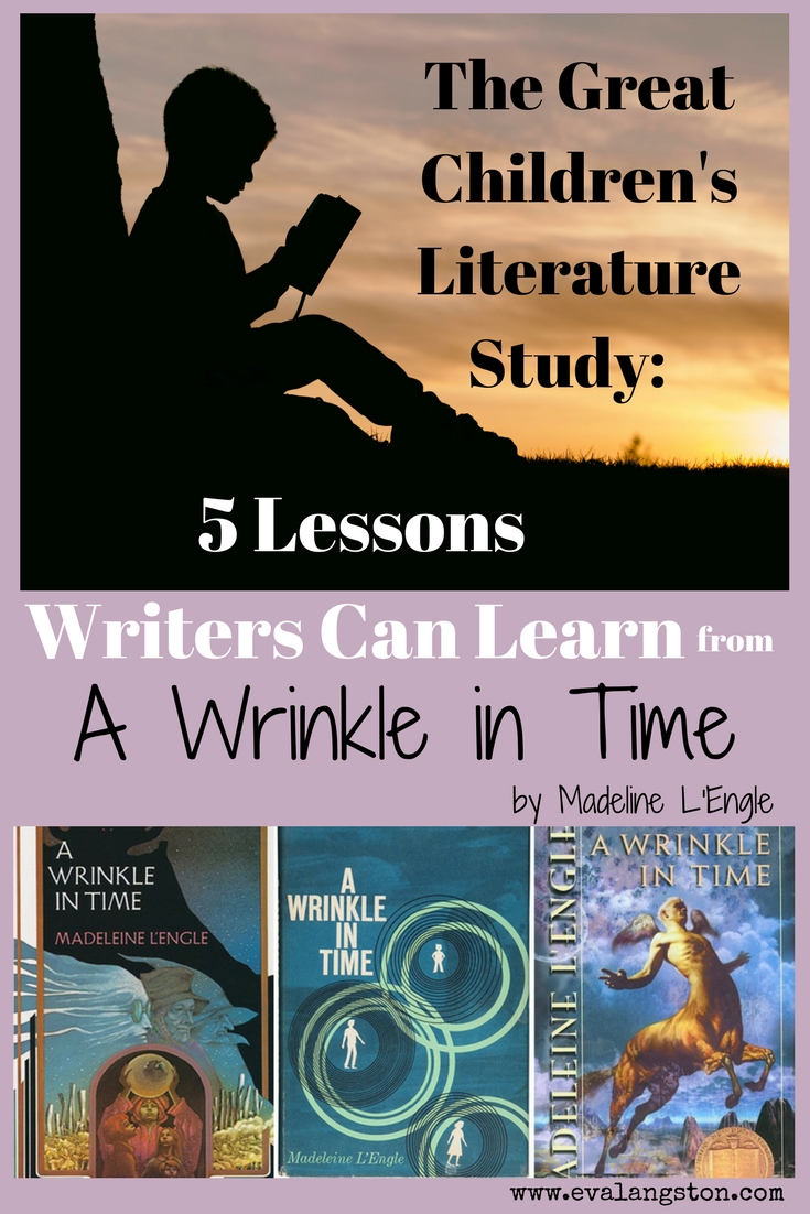 In anticipation of the new Disney movie version, here are 5 lessons writers can learn from the classic children's novel A Wrinkle in Time by Madeline L'Engle.