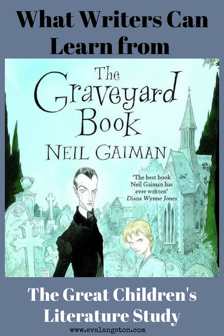 As part of my Great Children's Literature Study, today we have a lovely guest post from middle grade author H. Kates on what writers can learn from The Graveyard Book by Neil Gaiman.
