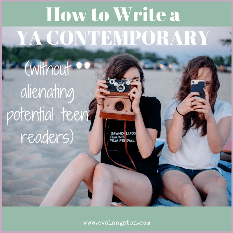 n a constantly-changing world, how can you make the YA contemporary novel you're writing seem current? 7 Tips to help you capture the teen experience!