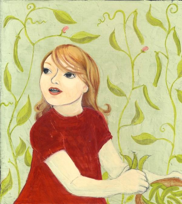 Little Girl Children Books Illustration