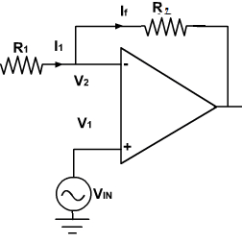 Circuit Diagram Of Non Inverting Amplifier Basic Home Electrical Wiring Virtual Labs Dayalbagh Educational Institute Agra Case Study