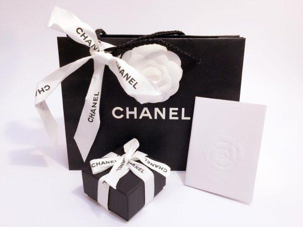 Chanel CC Earrings Studs