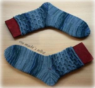 Morgentau Socken stricken
