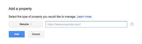 añade https a google search central