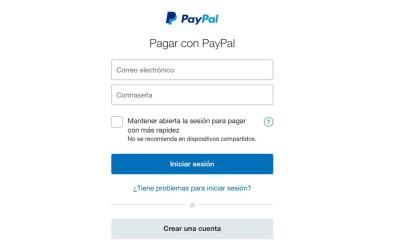 Paypal: pagar con tarjeta sin registrarse
