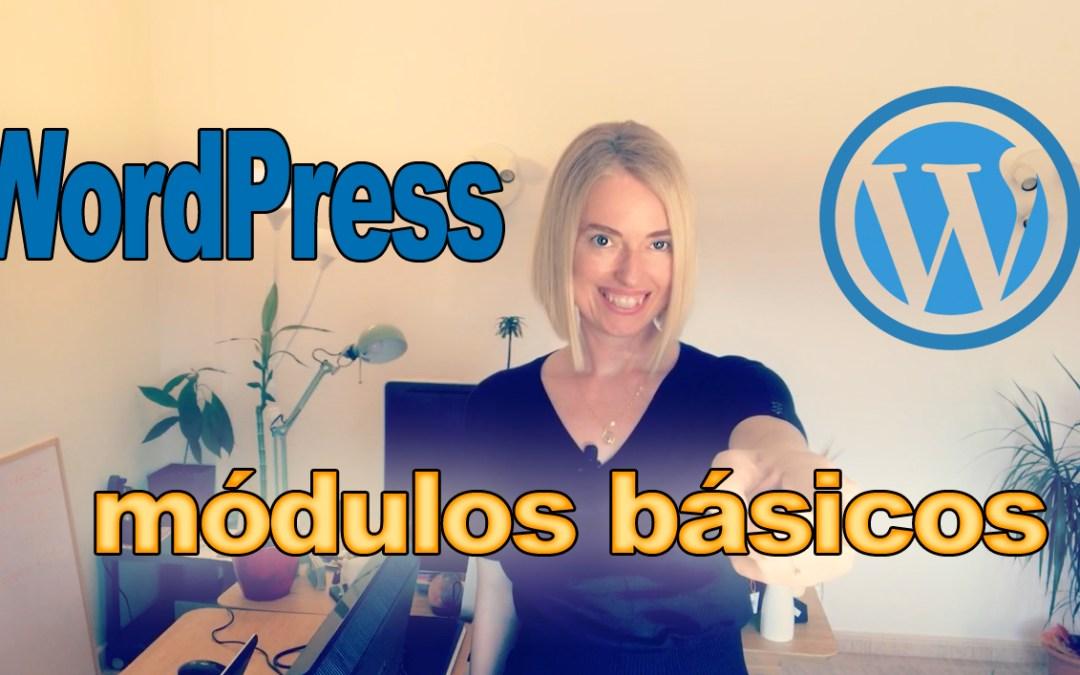 Módulos básicos para WordPress