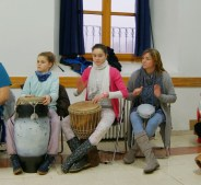 Cursos con percusión