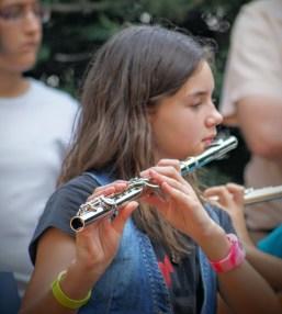 Luna y la flauta travesera