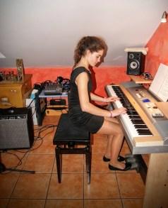 La Música al piano de Luna