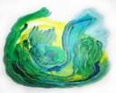 Verde Humedad, 2013, Acrílico sobre lienzo 100x81 cm.