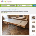Omas 60er Kuchentisch Hat Viele Preise Meine Suche Bei Ebay Kleinanzeigen