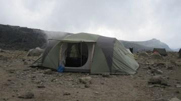 Beloved mess tent