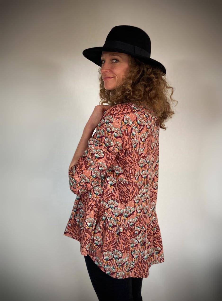 blouse femme giroflées evamia 1