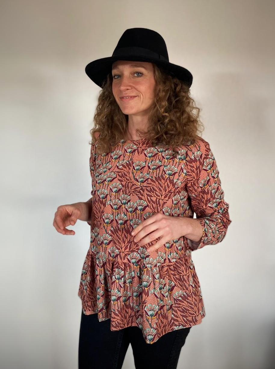 blouse femme giroflées evamia 2