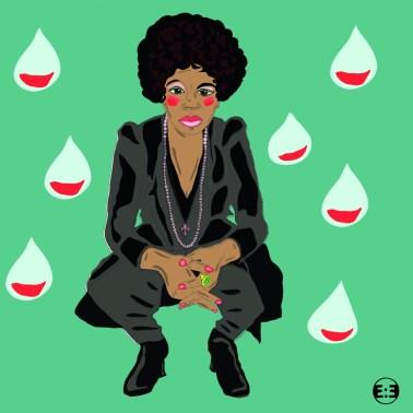Nina Simone by Eva Mirror