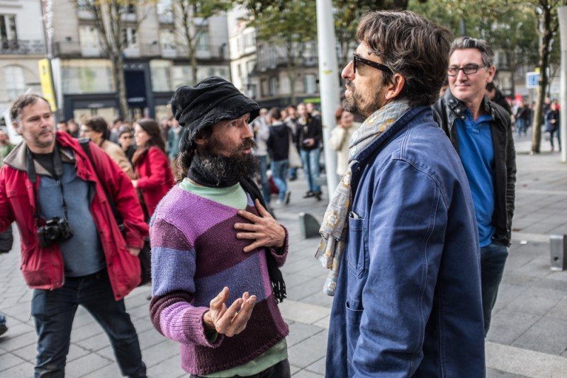 Emeutes / Nantes 1er Novembre 2015 par Evan FORGET - Photographe