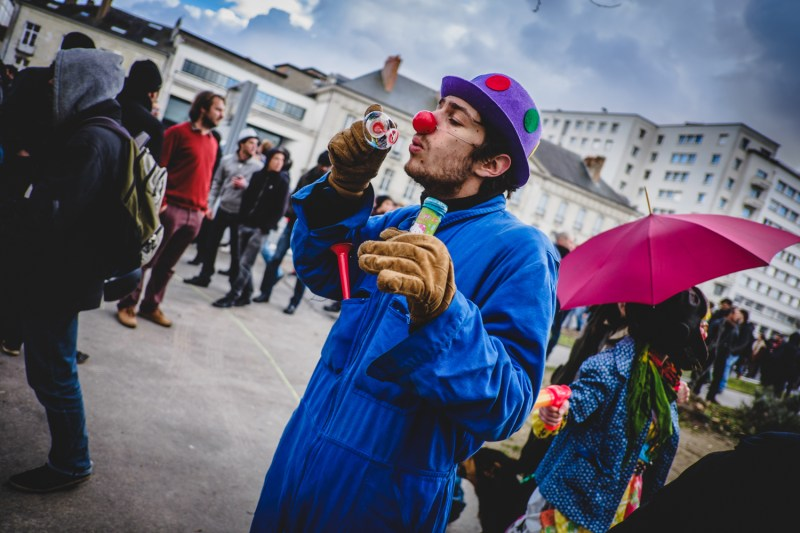 Emeutes / Nantes 21 février 2015 par Evan FORGET - Photographe