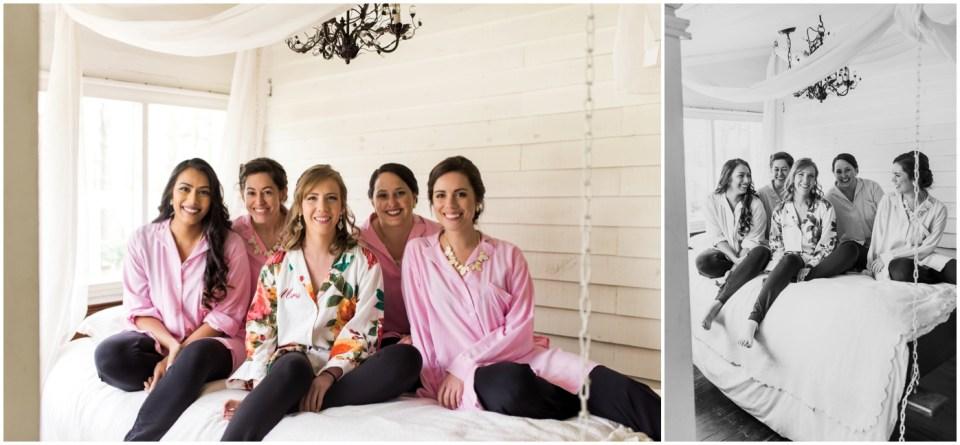 Wheeler House Photographer Bridesmaids