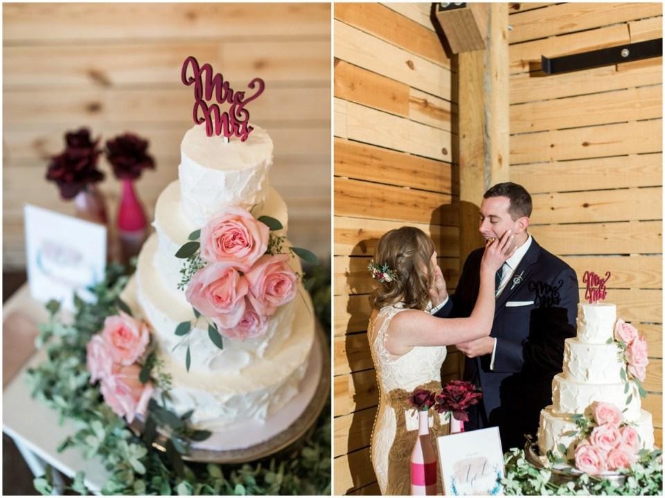 Wheeler House Photographer Reception Cake