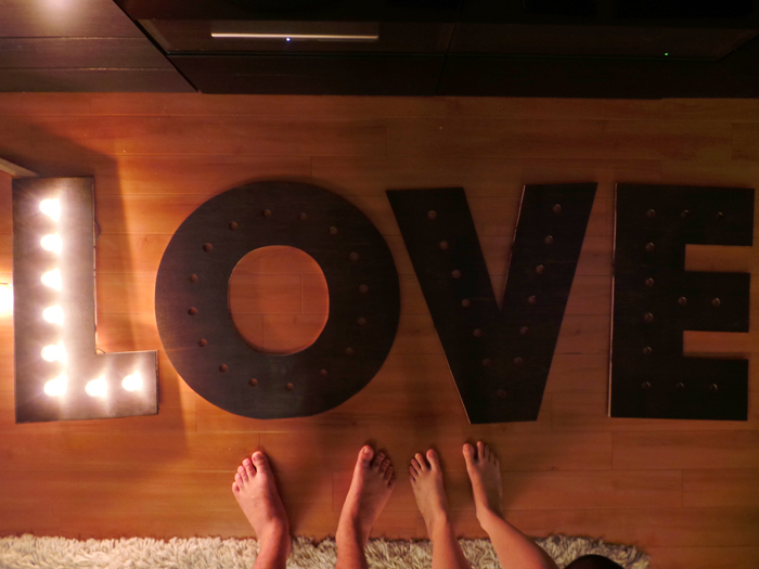 Makin' Loooooove… part 3 {DIY Marquee Letters} (4/4)