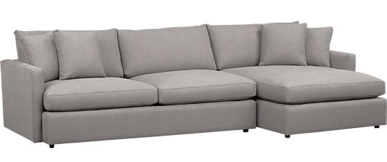crate and barrel lounge sofa pilling with a chaise couch buying trick evan katelyn home diy tutorials 2 piece sectional