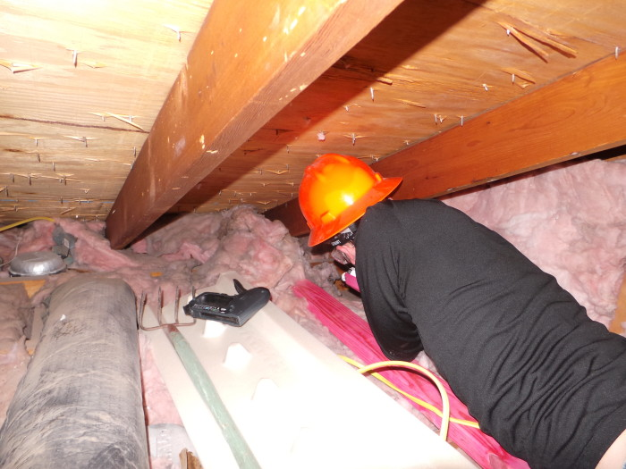Attic Prep Part 6- Vent Chutes (3/6)