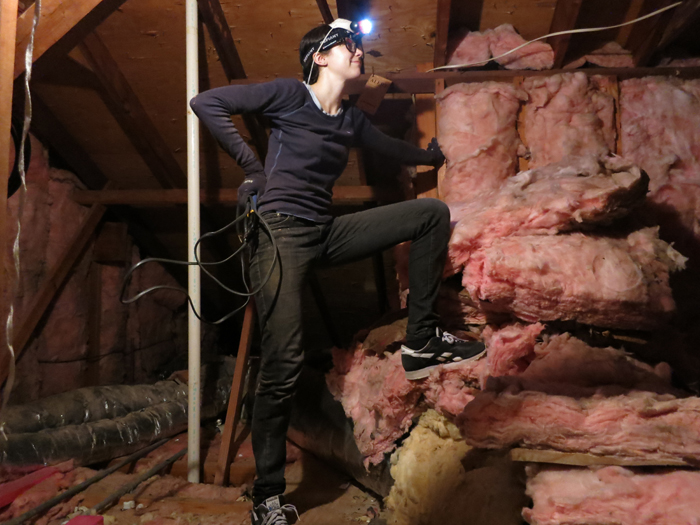 Attic Prep Part 5- Insulation Situation- evanandkatelyn.com