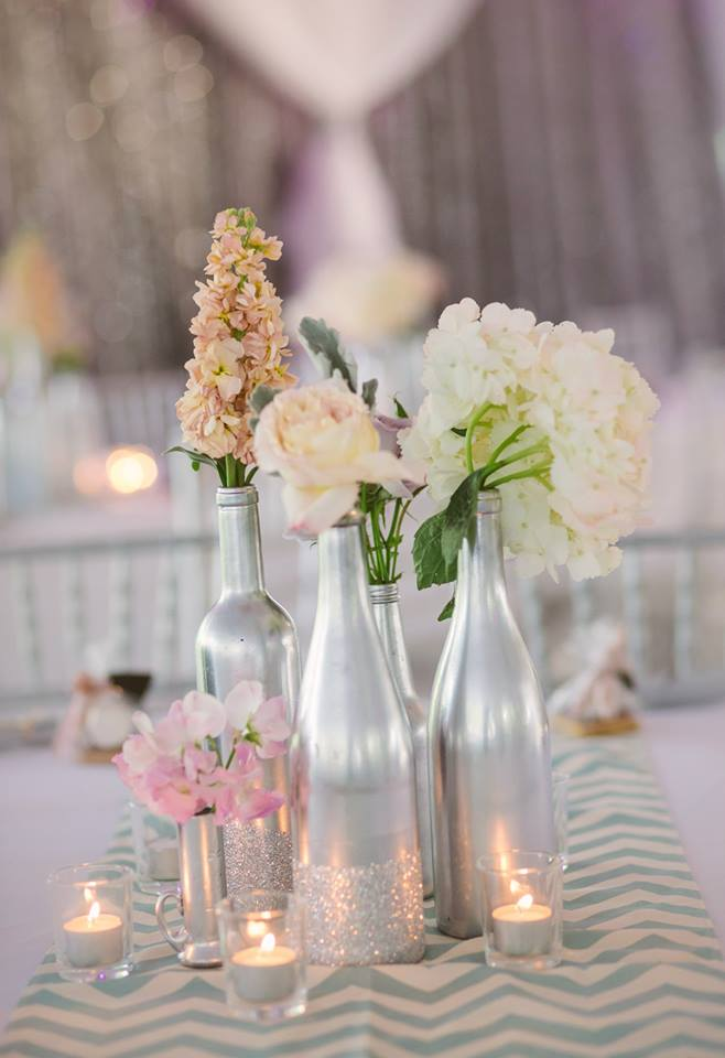 Diy wine bottles 4 ways evan katelyn home diy for Using wine bottles as centerpieces for wedding