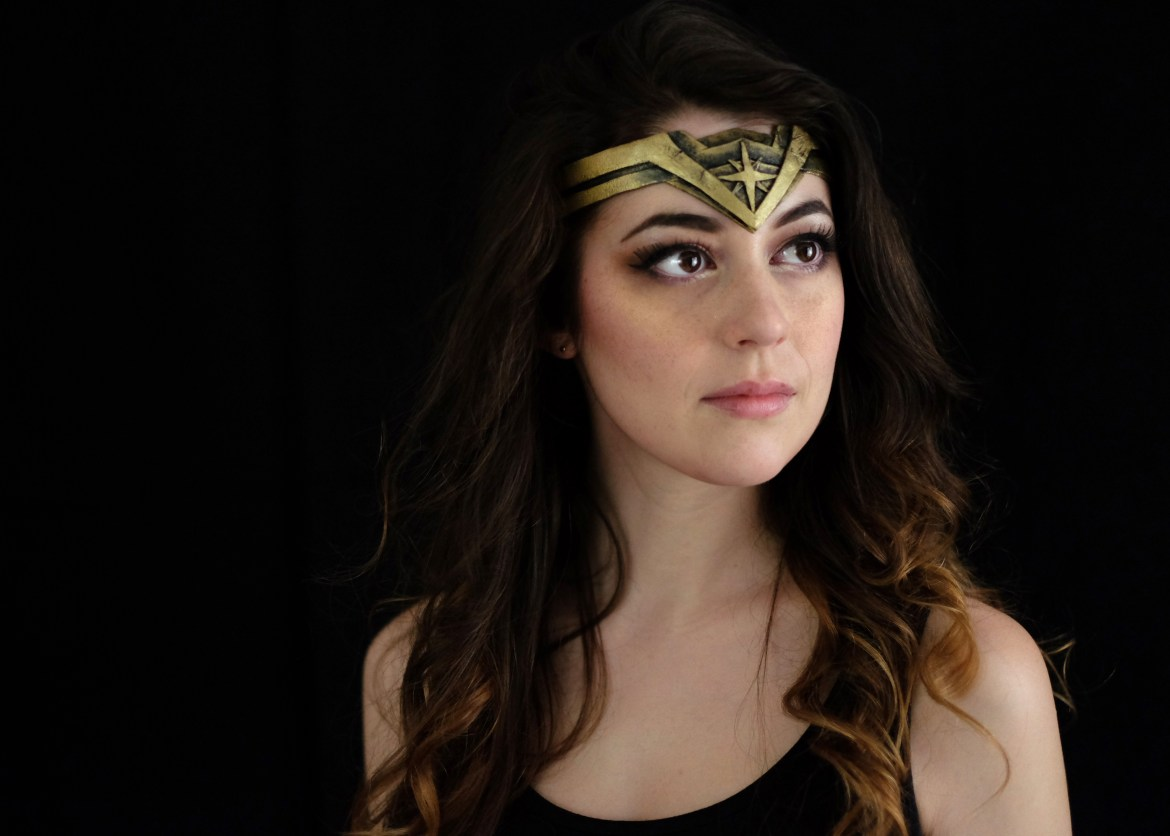 DIY Wonder Woman Tiara using Worbla