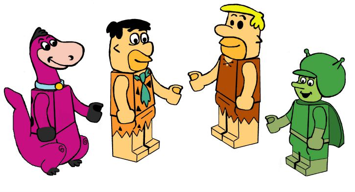 Flintstones Lego, Futurama Lego, Wes Anderson Lego... the dream Lego themes I would like to see.