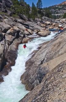 Kayaking Upper Cherry Creek Elemental