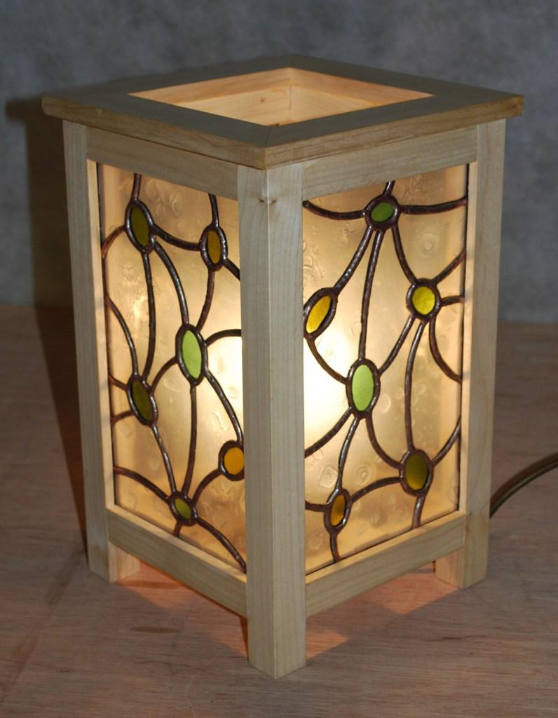 Jenia Gorfunkel - arts and crafts lamp 1